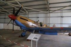Supermarine-Hitzkopf im Museum stockbilder