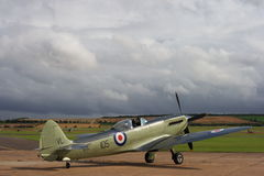 Supermarine Seafire aircraft royalty free stock photography