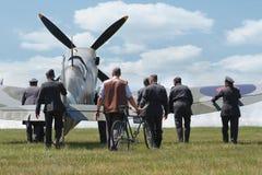 Supermarine Spitfire aircraf Stock Image