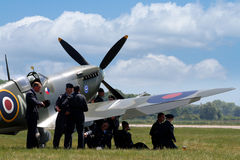 Supermarine Spitfire aircraf Stock Image