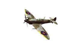 Supermarine Spitfire isolated on white background Stock Photos