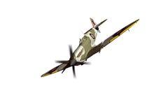 Supermarine Spitfire isolated on white background Royalty Free Stock Image