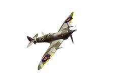 Supermarine Spitfire isolated on white background Stock Images