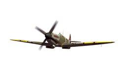 Supermarine Spitfire isolated on white background Stock Photo