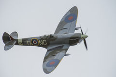 Supermarine Spitfire M XVI (airshow) Lizenzfreies Stockbild