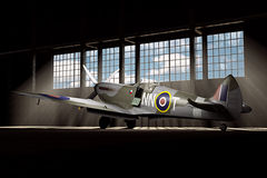 Supermarine Spitfire Mk.V - modelled in 3D Stock Image