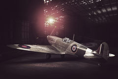 Supermarine Spitfire Mk.V - modelled in 3D Royalty Free Stock Image