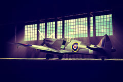 Supermarine Spitfire Mk.V - modelled in 3D Stock Images