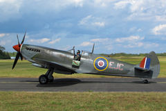 Supermarine Spitfire profile Royalty Free Stock Image