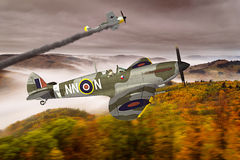 Supermarine Spitfire Royalty Free Stock Image