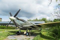 Supermarine spitfire replica Royalty Free Stock Image