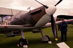 1940 Supermarine Spitfire 1A royalty free stock photography