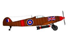 Supermarine Spitfire royalty free illustration