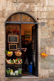 Supermarket?. Little market and italian tipical shop Royalty Free Stock Photos