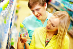 In supermarket Stock Images