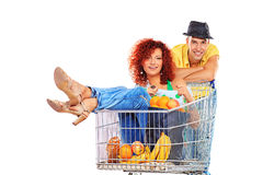 Supermarket Stock Image