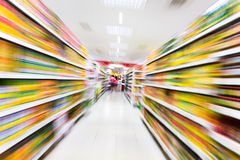 Supermarket Obrazy Stock