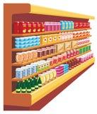 Supermarket. royalty ilustracja