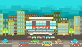 Free Supermarket. Stock Photos - 45947543