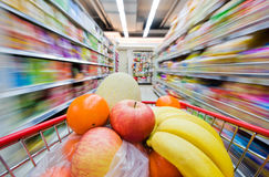 Supermarket abstract Royalty Free Stock Photo