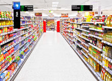 Free Supermarket Aisle Stock Photos - 21946823