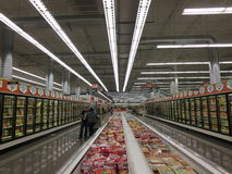 Supermarket Royalty Free Stock Image