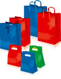 Supermarket bags vector Royalty Free Stock Photos