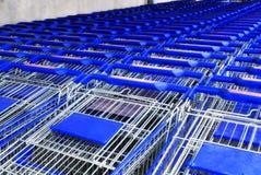 Supermarket basket Stock Photo