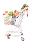 Supermarket car Stock Images