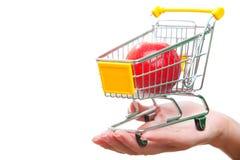 Supermarket cart Royalty Free Stock Photo