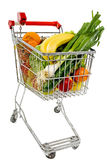 Supermarket Cart Stock Photography
