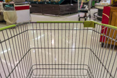 Supermarket Cart Stock Image