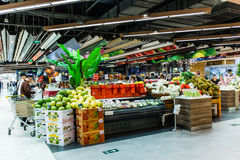 Supermarket in China Royalty Free Stock Images