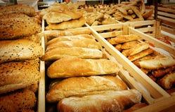 supermarket chlebowa rozmaitość Zdjęcia Royalty Free