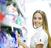 Supermarket: Choice Royalty Free Stock Photography