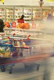 At supermarket Stock Photo