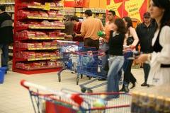 At supermarket Royalty Free Stock Image