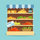 Supermarket food collection Royalty Free Stock Photography