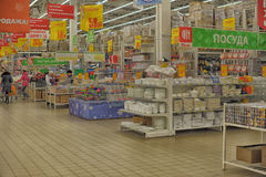 Supermarket grocery store Royalty Free Stock Photography