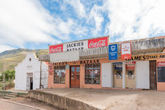 Supermarket i sala w Genadendal Zdjęcie Royalty Free