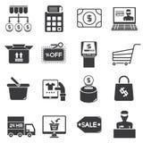 Supermarket icons vector illustration