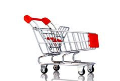 Supermarket kart Royalty Free Stock Photos