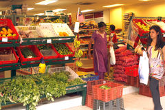 Supermarket in Kuala Lumpur Royalty Free Stock Photos