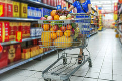 Supermarket. Stock Photo