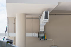 Supermarket large air ventilation system. Stock Photography
