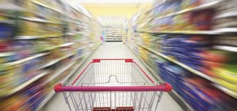 Supermarket nawy Hong kong Fotografia Stock