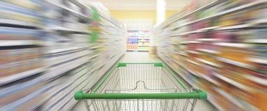 Supermarket nawy Hong kong Zdjęcia Stock
