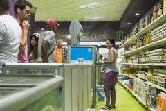 Supermarket old Havana royalty free stock image