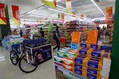 Supermarket Royalty Free Stock Photos