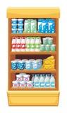Supermarket. Products. vector illustration